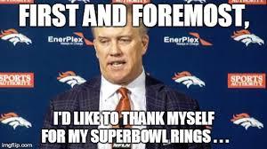 Denver Broncos Funny Memes - john elway at a press conference imgflip