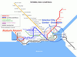istanbul metro map list of the airports in istanbul city and region of turkey