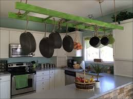 Kitchen Room Awesome Ceiling Mounted Pot Rack Pan Lid Rack Pot
