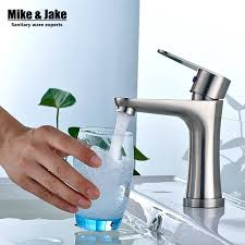 Stainless Steel Bathroom Faucets by Online Get Cheap Nickel Bathroom Faucet Aliexpress Com Alibaba