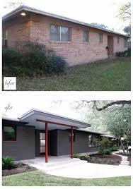 simple renovation ideas to transform a charmless brick home