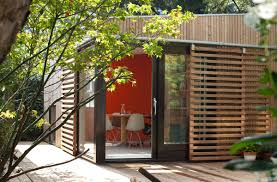 garden pavilion bloot architecture small house bliss