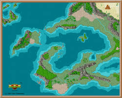 Final Fantasy 6 World Map by Fantasy World Map 3