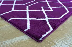purple moroccan trellis contemporary area rugs 5x8 8x11