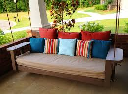 porch swing bed top coral coast siesta person canopy swing bed