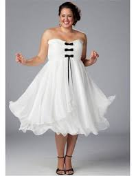 cheap all white plus size dresses