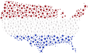 United State Map by Clipart United States Map Flag Stars Enhanced 2 No Background