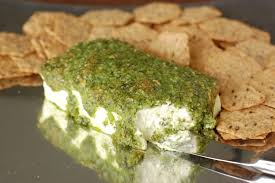 pesto cream cheese bake and other appetizers 100 days of real food