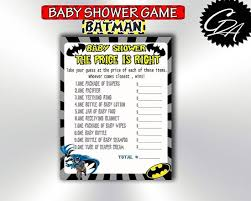price is right baby shower party stuff baby shower price is right batman