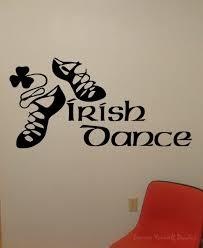 irish dance wall decal wall decal wall art decal sticker irish dance wall decal