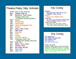 create a table chart free householdschedule schedules pinterest family chore charts