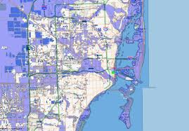 Map Of Miami Neighborhoods by Beachball Antennas