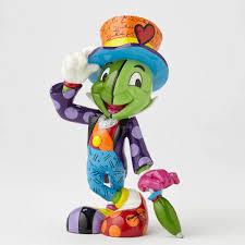 disney figurines by romero britto