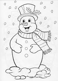 jolly snowman coloring by pages and dot to dot pinterest