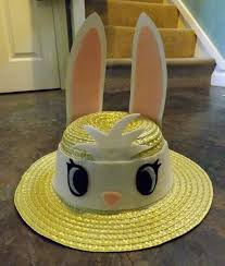easter bunny hat easter bunny hat a bonnet other on cut out keep creation