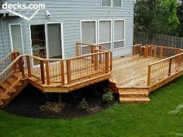 Backyard Deck Pictures by 14 Best Backyard Decks Images On Pinterest Backyard Decks Two
