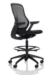 fauteuil de bureau knoll chaise de bureau contemporaine à roulettes en métal en