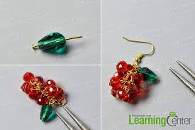 christmas earrings pandahall tutorial on how to make beaded christmas earrings in a