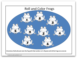frog coloring pages learning activities