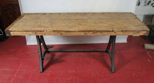 Kitchen Island Work Table by Industrial Steel Workbench Kitchen Island Table At 1stdibs