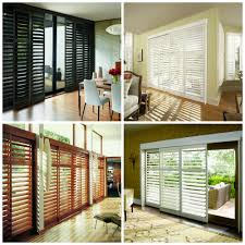 Bypass Shutters For Patio Doors Covering Patio Or Sliding Glass Doors Made In The Shade