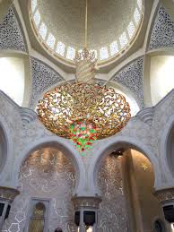 Largest Chandelier Abu Dhabi U0027s Grand Mosque The Anecdotal Goat