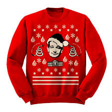 you can now buy an ugly christmas sweater with ted u0027s face on it