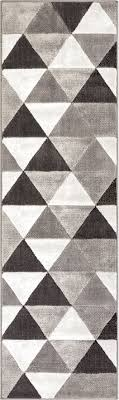Area Rug Pattern Arlo Tiles Grey Modern Triangle Pattern Area Rug Ruglots