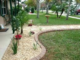 Colored Rocks For Garden Rock And Mulch Landscape Ideas Flyingangels Club