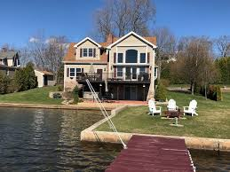 gorgeous waterfront home on highland lake vrbo