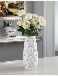 Simple Flower Vase - creative home decorations simple ceramic fashion white modern vase