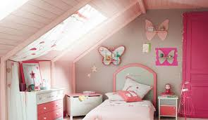 chambre fille couleur déco peinture chambre fille côté maison