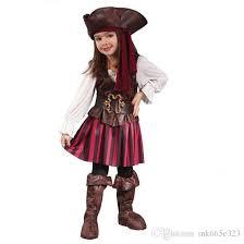 2018 baby cosplay spanish pirate halloween costumes for girls