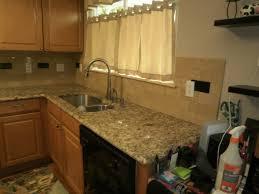 pictures of kitchen countertops and backsplashes granite kitchen solid tile backsplash installation by front range backsplash llc