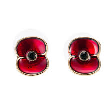 poppy earrings aliexpress buy 1 2 inch enamel poppy flower stud