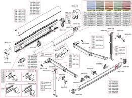 Sunsetter Awnings Parts Retractable Awning Parts For Retractable Awning