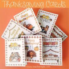 thanksgiving cards by nyla s crafty teaching teachers pay teachers