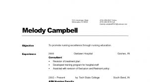 Nursing Resume Examples With Clinical Experience by Free Professional Resume Template Page 18