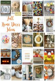 fall home decor ideas housewife eclectic