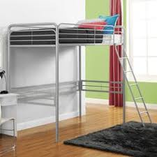 your zone metal loft twin bed multiple colors walmart com 119