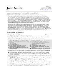 Best Marketing Manager Resume by Marketing Resume Example Stunning Marketing Resumes Samples With