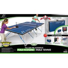eastpoint sports table tennis table eastpoint fold n store table tennis table 12mm walmart com