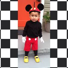 mickey mouse toddler costume toddler mickey mouse diy toddlerhalloween costumes