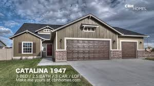 3 car garage door cbh homes catalina 1947 3 bed 2 5 bath 3 car garage loft
