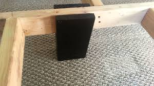 Building A King Size Platform Bed With Storage by Cal King Bed Frame How To For About 150 Youtube