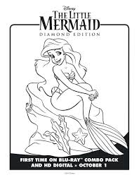 coloring pages mermaid coloring pages free printable
