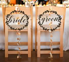 and groom chair signs 10 beautiful and groom wedding chair signs mid south