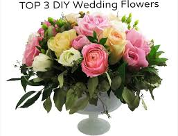 2013 top 3 diy wedding centerpieces u0026 flowers mazelmoments com