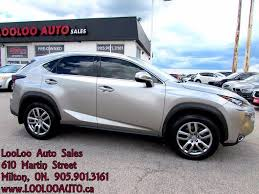 lexus pre owned ontario used 2015 lexus nx 200t awd navigation camera certified warranty