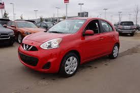 red nissan 2017 new 2017 nissan micra sv automatic leduc ab the truck depot